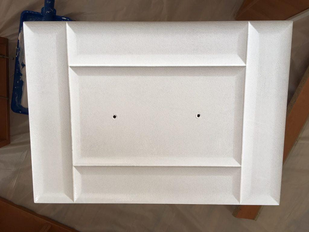 Malowanie szafek MDF - trzecia warstwa