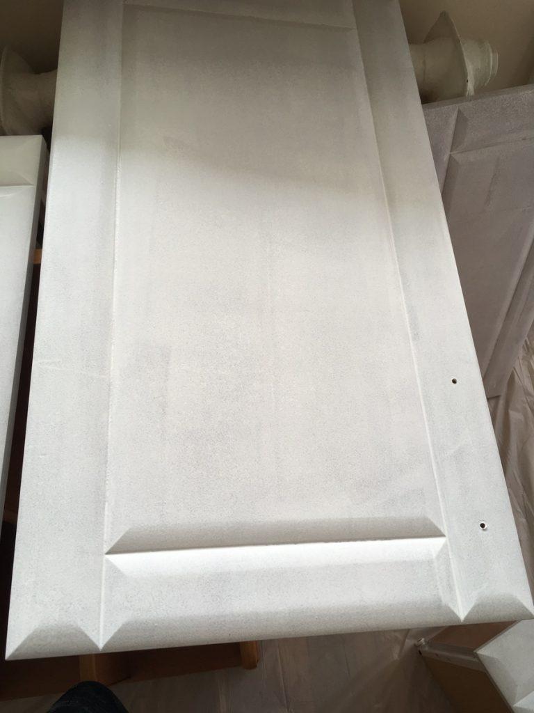 Malowanie szafek MDF - druga warstwa